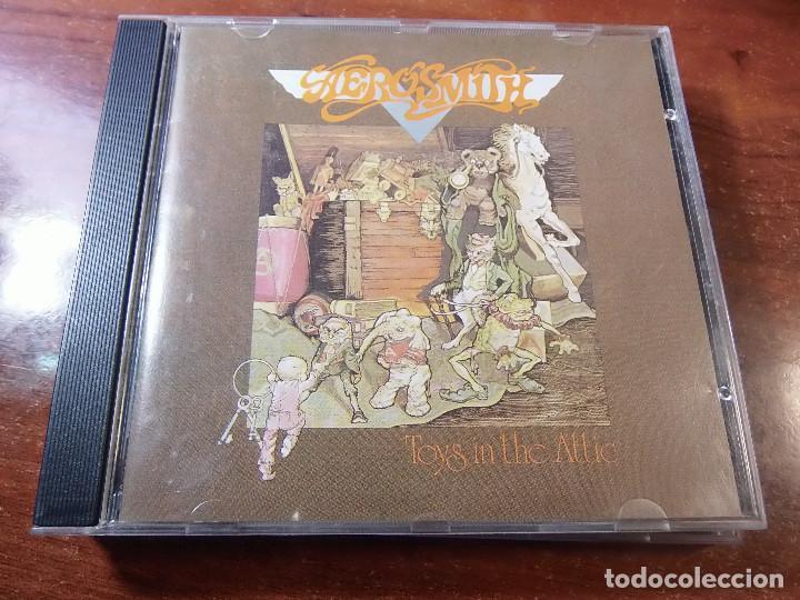 AEROSMITH TOYS IN THE ATTIC (Música - CD's Rock)