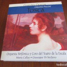 CDs de Música: GRANDES OPERAS TOSCA GIACOMO PUCCINI. Lote 82114388