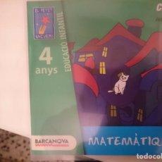 CDs de Música: CD EDUCACIO INFANTIL 4 ANYS - ED. BARCANOVA - MATEMATIQUES --REFSAMUMEESEN. Lote 82141396