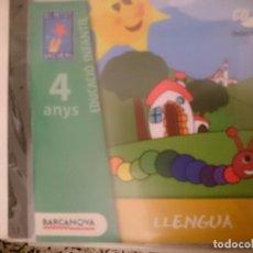 CDs de Música: CD EDUCACIO INFANTIL 4 ANYS - ED. BARCANOVA - LLENGUA --REFSAMUMEESEN. Lote 82141416
