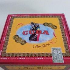CDs de Música: CUBA I AM TIME 4CD BOX SET LIBRO 114 PAGINAS CAJA PUROS (1997 BLUE JACKEL) PABLO MILANES MARIO BAUZA. Lote 82200096