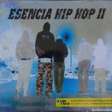 CDs de Música: ESENCIA HIP HOP LO 4 CDS + DVD. Lote 82214744