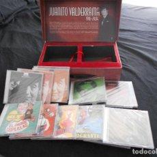 CDs de Música: CAJA CON 9 CD´S Y 5 DVD´S DE JUANITO VALDERRAMA. Lote 289713473