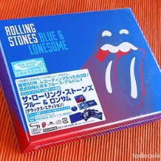 CDs de Música: THE ROLLING STONES - BLUE & LONESOME JAPÓN SHM-CD DELUXE EDITION BOX SET PRECINTADO. Lote 82331584