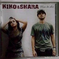 CDs de Música: CD KIKO & SHARA UNA DE DOS. Lote 82354152