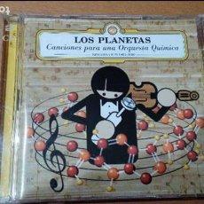CDs de Música: LOS PLANETAS - CANCIONES PARA UNA ORQUESTA QUÍMICA (SINGLES Y EPS 1993~1999) 2CD. Lote 82354412