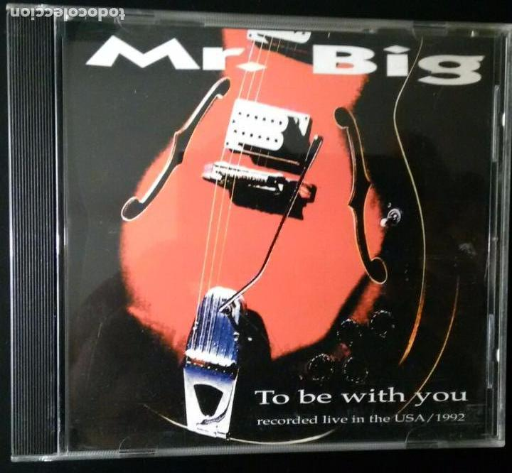 MR BIG. TO BE WITH YOU (RECORDED LIVE IN THE USA / 1992) LIVE LINE 1993 (Música - CD's Heavy Metal)