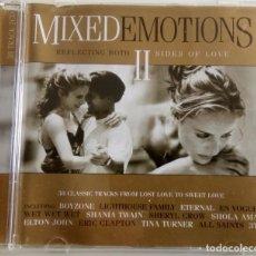 CDs de Música: MIXED EMOTIONS II CD 38 CLASICOS EN DOS CDS. AÑO 1998. Lote 82357608