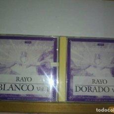 CDs de Música: LOTE 2 CDS RAYO BLANCO + RAYO DORADO. Lote 82363008