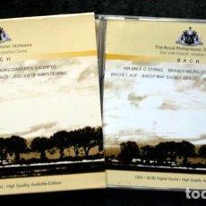 CDs de Música: BACH - THE ROYAL PHILARMONIC ORCHESTRA - SOLO VIOLIN / DIRECTOR : JONATHAN CARNEY - RARO - RARE. Lote 82433500