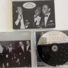 CDs de Música: ULTIMATE RAT PACK COLLECTION - LIMITE EDITION ¿AÑO 2003? LIVE AND SWINGIN - FRANK SINATRA. Lote 82473828