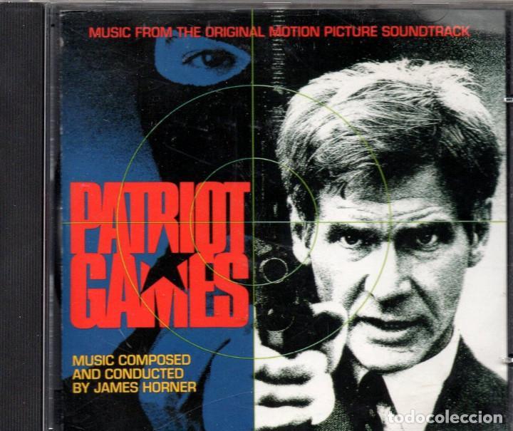 JUEGO DE PATRIOTAS BSO (Música - CD's Bandas Sonoras)