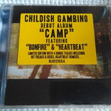 CDs de Música: CHILDISH GAMBINO - '' CAMP '' CD LIMITED EDITION SEALED. Lote 43112906