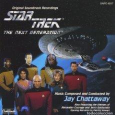 CDs de Música: STAR TREK / THE NEXT GNERATION - JAY CHATTAWAY / JERRY GOLDSMITH. Lote 82490688