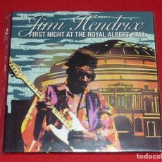 CDs de Música: JIMI HENDRIX FIRST NIGHT AT THE ROYAL ALBERT HALL DOBLE CD. Lote 278704753