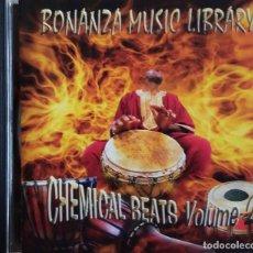 CDs de Música: CHEMICAL BEATS VOLUME 2. BONANZA MUSIC LIBRARY. CD. Lote 82502668
