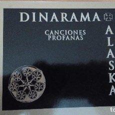 CDs de Música: ALASKA DINARAMA CANCIONES PROFANAS DOBLE CD DIGIPACK Y LIBRETO 20 PAGS NG. Lote 82506772