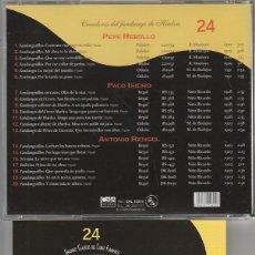 CDs de Música: GRANDES CLASICOS DEL CANTE FLAMENCO - Nº 24 PEPE REBOLLO (CD CALE RECORDS 2001). Lote 96529592
