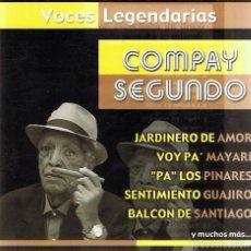 CDs de Música: CD COMPAY SEGUNDO . Lote 82562512