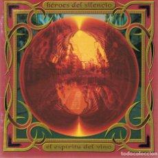 CDs de Música: CD HÉROES DEL SILENCIO¨EL ESPÍRITU DEL VINO¨. Lote 82566796