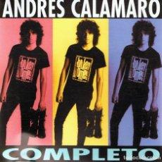 CDs de Música: CD ANDRÉS CALAMARO ¨COMPLETO¨. Lote 82568152