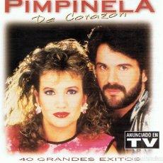 CDs de Música: CD PIMPINELA DE CORAZÓN 40 GRANDES ÉXITOS ( 2 CD´S). Lote 82589736