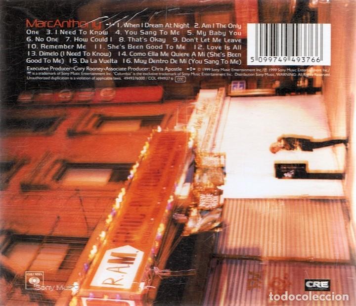 CDs de Música: CD MARC ANTHONY - Foto 2 - 82602460