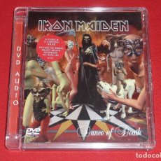 CDs de Música: IRON MAIDEN DANCE OF DEATH DVD AUDIO. Lote 245388155