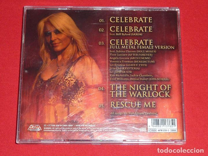 CDs de Música: DORO CELEBRATE - THE NIGHT OF THE WARLOCK CD EP - WARLOCK - Foto 2 - 23871894
