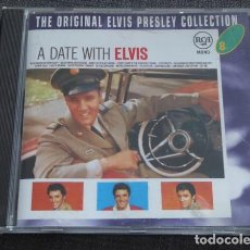 CDs de Música: ELVIS PRESLEY ‎– A DATE WITH ELVIS CD 1996. Lote 82715488
