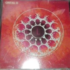 CDs de Música: QNTAL II. Lote 82726410
