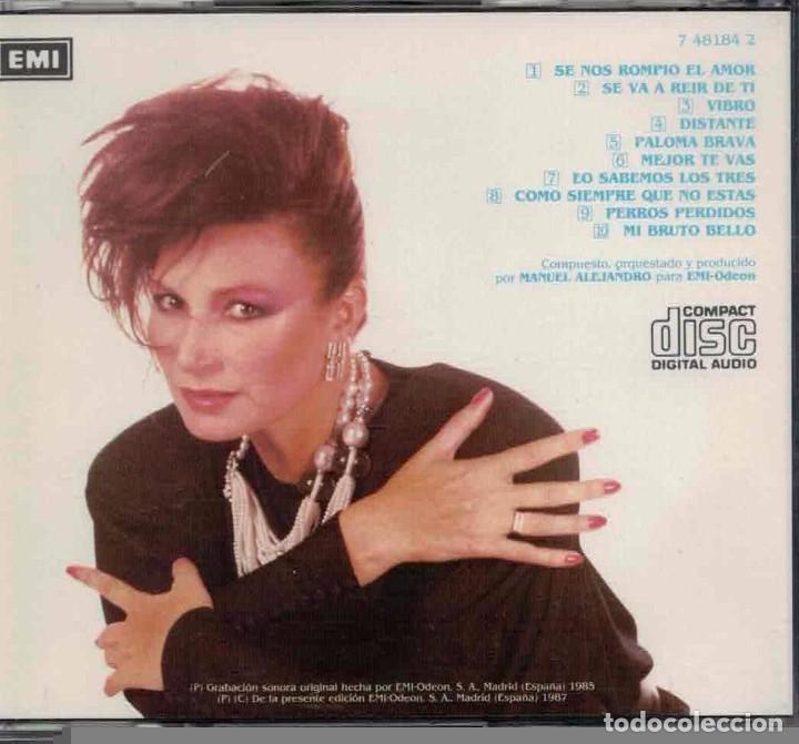 CDs de Música: ROCIO JURADO-CD PALOMA BRAVA - Foto 2 - 82730288