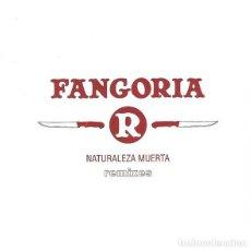 CDs de Música: FANGORIA ?– NATURALEZA MUERTA REMIXES CD SUBTERFUGE. Lote 82752964