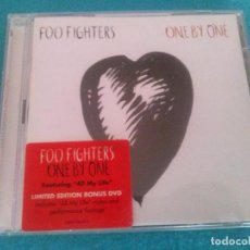 CDs de Música: ONE BY ONE ÁLBUM MUSICAL DE FOO FIGHTERS....BONUS CON DVD. Lote 82755448