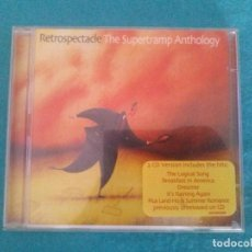 CDs de Música: RETROSPECTACLE - THE SUPERTRAMP ANTHOLOGY ÁLBUM MUSICAL DE SUPERTRAMP....DOBLE CD. Lote 82759852