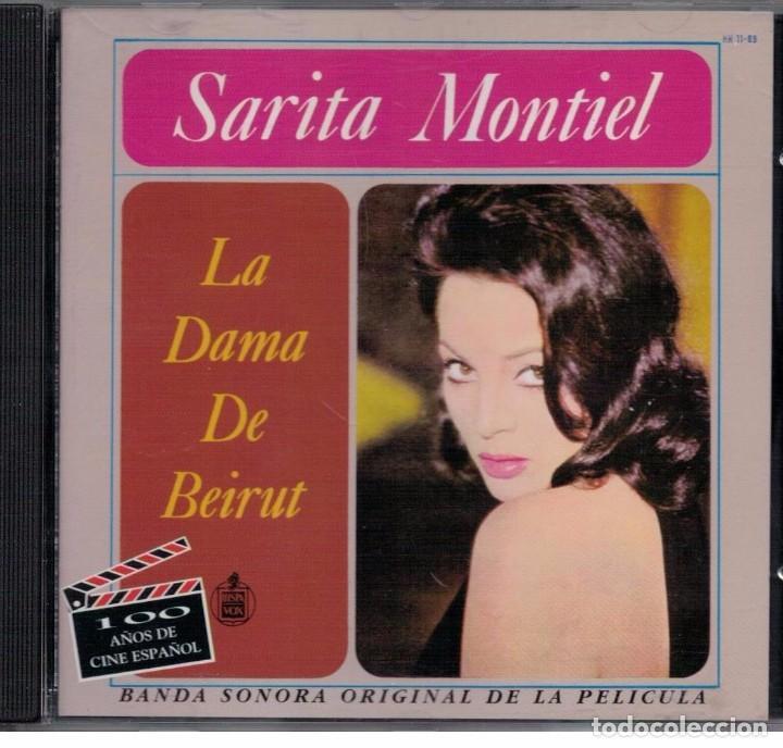 SARITA MONTIEL-CD LA DAMA DE BEIRUT (Música - CD's Flamenco, Canción española y Cuplé)