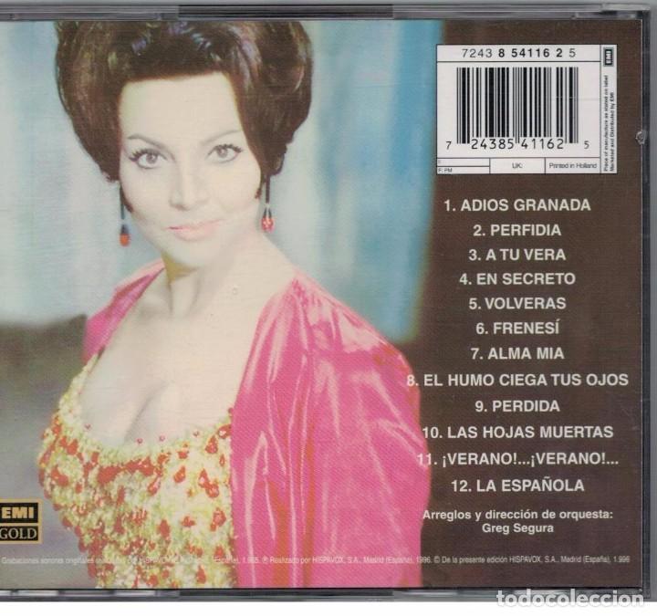 CDs de Música: SARITA MONTIEL-CD LA DAMA DE BEIRUT - Foto 2 - 82766960