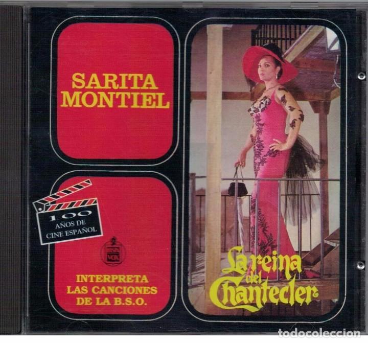 SARITA MONTIEL-CD LA REINA DEL CHANTECLER (Música - CD's Flamenco, Canción española y Cuplé)