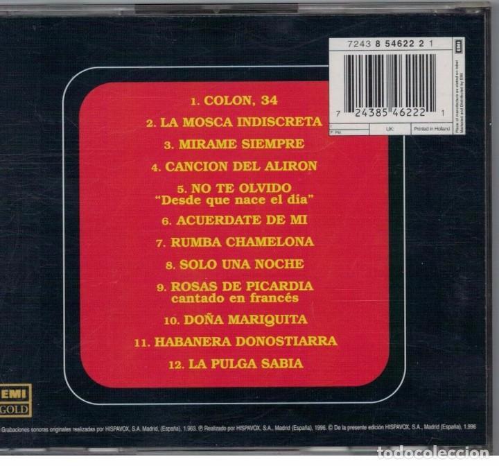 CDs de Música: SARITA MONTIEL-CD LA REINA DEL CHANTECLER - Foto 2 - 82767496