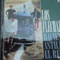 CDs de Música: LOS FLECHAZOS - HACIENDO ASTILLAS EL RELOJ (CD DRO 1996). Lote 82780456