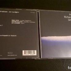 CD di Musica: CD - FRESU, GALLIANO & LUNDGREN - MARE NOSTRUM. Lote 82811740