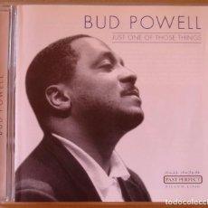CDs de Música - BUD POWELL - JUST ONE OF THOSE THINGS (CD) 2001 - 82874664