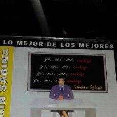 CDs de Música: CD LO MEJOR DE LOS MEJORES JOAQUÍN SABINA.. Lote 80872448