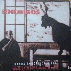 CDs de Música: LOS ENEMIGOS IGUAL CAEN DOS (EL ATARDECER DEL PEZUÑAS) (6 TEMAS) (CD-SINGLE 1997). Lote 82904828