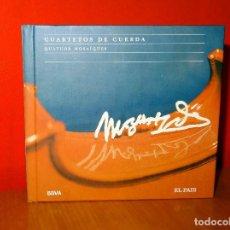 CDs de Música: MOZART CUARTETOS DE CUERDA CD + LIBRO NUEVO. Lote 82905840