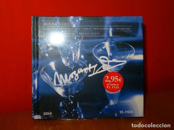 MOZART SINFONÍAS KARAJAN CD + LIBRO (Música - CD's Clásica, Ópera, Zarzuela y Marchas)