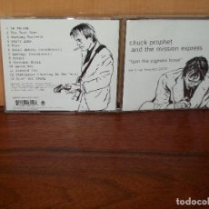 CDs de Música: CHUCK PROPHET AND THE MISSION EXPRESS - TURN THE PIGEON - LIVE SAN FRANCISCO 2000 - CD. Lote 82935332