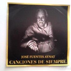 CDs de Música: CONCIERTO HOMENAJE A JOSE FUENTES AYNAT - CANCIONES DE SIEMPRE - GARRUCHA - ALMERIA. Lote 82943356