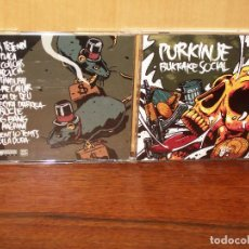 CDs de Música: PURKINJE - BURKAKE SOCIAL - CD . Lote 82955788