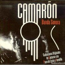 CDs de Música: CD - CAMARÓN - BANDA SONORA - PACO DE LUCÍA Y TOMATITO. Lote 82972972